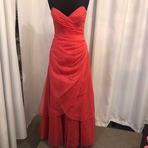 David's Bridal ball gown